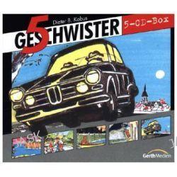 Hörbuch: 5 Geschwister CD-Box 2  von Günter Schmitz