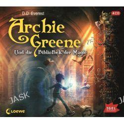 Hörbuch: Archie Greene 01 und die Bibliothek der Magie  von D. D. Everest