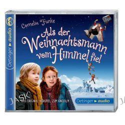 Hörbuch: Als der Weihnachtsmann vom Himmel fiel (CD)  von Cornelia Funke,Barbara van den Speulhof