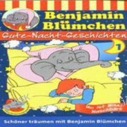 Hörbuch: Benjamin Blümchen. Gute Nacht-Geschichten 01. Cassette