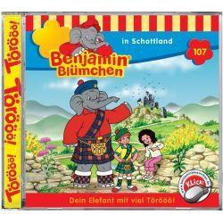 Hörbuch: Benjamin Blümchen 107 ... in Schottland  von Elfie Donnelly