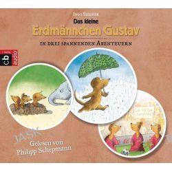 Hörbuch: Das kleine Erdmännchen Gustav in drei spannenden Abenteuern  von Ingo Siegner
