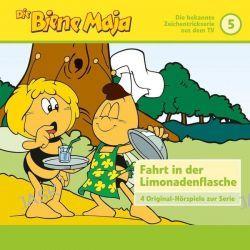 Hörbuch: Die Biene Maja 05: Die Fahrt in der Limonadenflasche u.a.  von Eberhard Storeck,Waldemar Bonsel