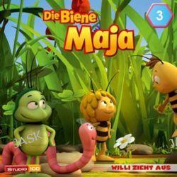Hörbuch: Die Biene Maja (CGI) 03: Der Bienentanz, Willi zieht aus u.a.  von Anja Herrenbrück