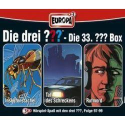 Hörbuch: Die drei ??? 33. Box (97 - 99)