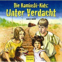 Hörbuch: Die Kaminski-Kids. Unter Verdacht  von Carlo Meier