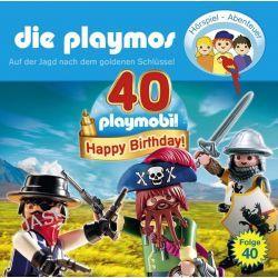 Hörbuch: Die Playmos 40. Auf der Suche nach dem goldenen Schlüssel  von David Bredel,Florian Fickel