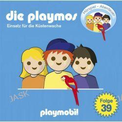 Hörbuch: Die Playmos 39. Mit der Küstenwache auf Verbrecherjagd  von Simon X. Rost,Florian Fickel
