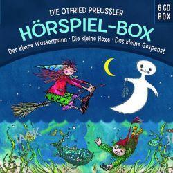 Hörbuch: Die O.Preuáler-Hörspielbox: Wasserm/Hexe/Gespenst  von Otfried Preußler