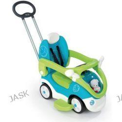Smoby - Jeździk Bubble Go 4in1 niebiesko/zielony
