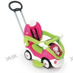 Smoby - Jeździk Bubble Go 4in1 różowo/zielony