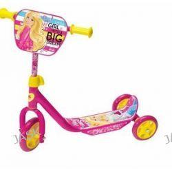 Mondo - Hulajnoga trójkołowa - Barbie