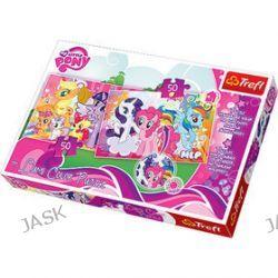Trefl. My Little Pony. Lumi Color - puzzle (2x50 elementów)