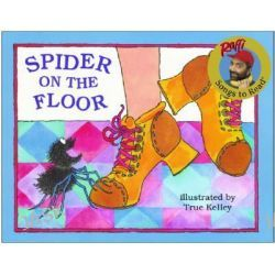 Spider on the Floor, Songs to read by Raffi, 9780517885536. Po angielsku