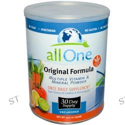 All One, Nutritech, Original Formula, Multiple Vitamin & Mineral Powder, 15.9 oz (450 g)