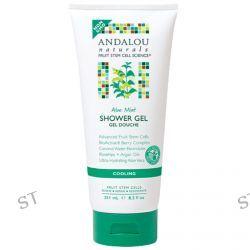 Andalou Naturals, Shower Gel, Aloe Mint , 8.5 fl oz (251 ml)