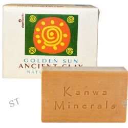 Zion Health, Ancient Clay Natural Soap, Golden Sun, 10.5 oz (300 g)