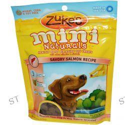 Zuke's, Mini Naturals, Healthy Moist Miniature Dog Treats, Salmon Formula Recipe, 6 oz (170 g)