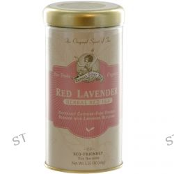 Zhena's Gypsy Tea, Organic, Red Lavender, Herbal Red Tea, Caffeine Free, 22 Tea Sachets, 1.55 oz (44 g)