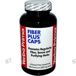 Yerba Prima, Fiber Plus Caps, 625 mg, 180 Capsules