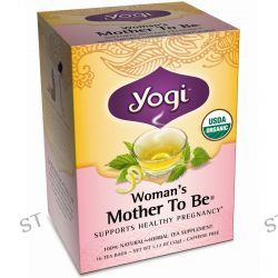 Yogi Tea, Woman's Mother To Be, Caffeine Free, 16 Tea Bags, 1.12 oz (32 g)