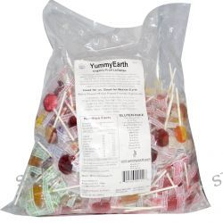 Yummy Earth, Organic Fruit Lollipops, Assorted Fruits Flavors, 5 lb (2268 g)