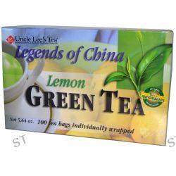 Uncle Lee's Tea, Legends of China, Green Tea, Lemon, 100 Tea Bags, 5.64 oz