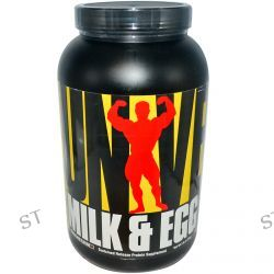 Universal Nutrition, Milk & Egg Protein, Chocolate Flavor, 3 lbs (1.36 kg)