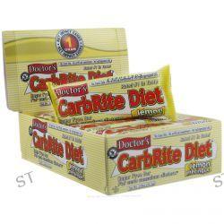 Universal Nutrition, Doctor's CarbRite Diet Bar, Sugar-Free, Lemon Meringue, 12 Bars, 2 oz (56.7 g) Each