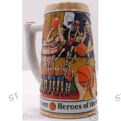 "Budweiser ""Heroes of The Hardwood"" Sports Stein CS134"