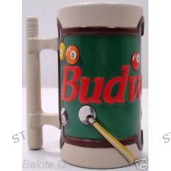 Budweiser 1996 Billiards Stein CS278 New