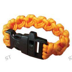 Ultimate Survival Para 550 Paracord Bracelet w Whistle Orange 20 295 355 N18 M