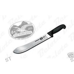"Victorinox 12"" Butcher Knife Granton Edge Fibrox 40636"