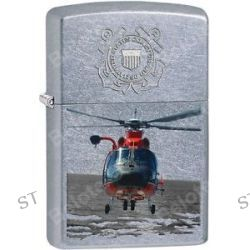 Zippo 2015 Catalog Military USCG Coast Guard Chopper Street Chrome Lighter 28900