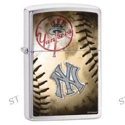 Zippo 2015 MLB New York Yankees Brushed Chrome Windproof Lighter 200CI010404 New