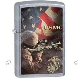 Zippo 2015 Catalog Military Marines USMC Sniper Street Chrome Lighter 28899 New