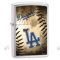 Zippo 2015 MLB Los Angeles Dodgers Brushed Chrome Windproof Lighter 200CI010743