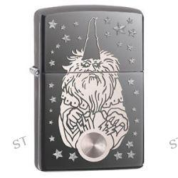 Zippo Black Ice Laser Rotary Wizard Windproof Lighter 28644 New