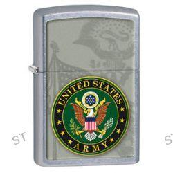 Zippo Street Chrome U s Army Crest Windproof Lighter 28632 New