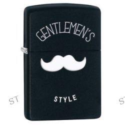 Zippo Black Matte Gentlemen's Style Windproof Lighter 28663 New