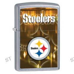 Zippo 2014 NFL Pittsburgh Steelers Street Chrome Lighter Brand New in Box 28612