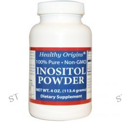 Healthy Origins, Inositol Powder, 4 oz (113.4 g)