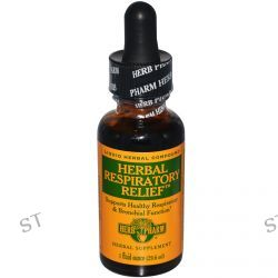 Herb Pharm, Herbal Respiratory Relief, 1 fl oz (29.6 ml)