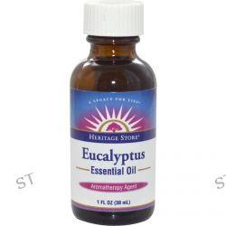 Heritage Products, Essential Oil, Eucalyptus, 1 fl oz (30 ml)