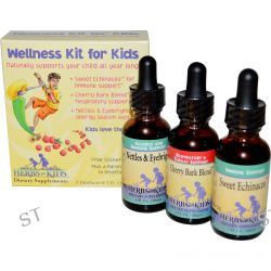 Herbs for Kids, Wellness Kit for Kids, 3 Products, 1 fl oz (30 ml) Each