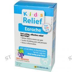 Homeolab USA, Kids Relief, Earache for Kids 0-9, Grape Flavor, 0.85 fl oz (25 ml)