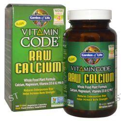 Garden of Life, Vitamin Code, Raw Calcium, 120 Veggie Caps