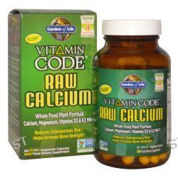 Garden of Life, Vitamin Code, Raw Calcium, 60 Veggie Caps
