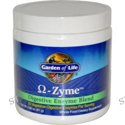 Garden of Life, Ω-Zyme, Digestive Enzyme Blend, 2.86 oz (81 g)