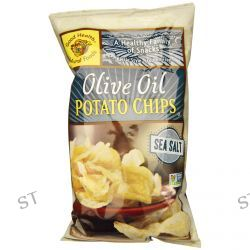 Good Health Natural Foods, Olive Oil Potato Chips, Sea Salt, 5 oz (142 g)